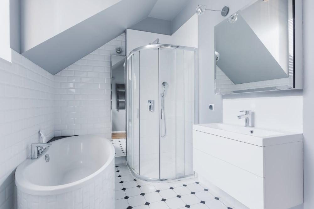 Klassisk badeværelse
